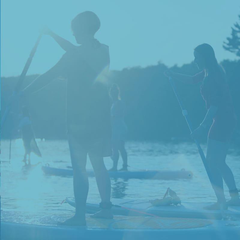 Paddle board SUP Laurentides - Forfait Sup Huppé