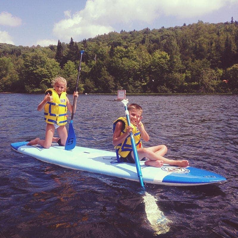 SUP huppé activité paddle board