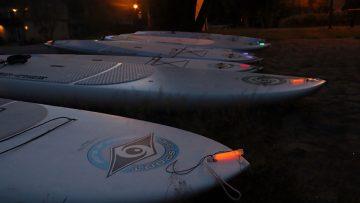 Sortie de nuit en SUP - Echo Aloha paddle board (SUP) Laurentides