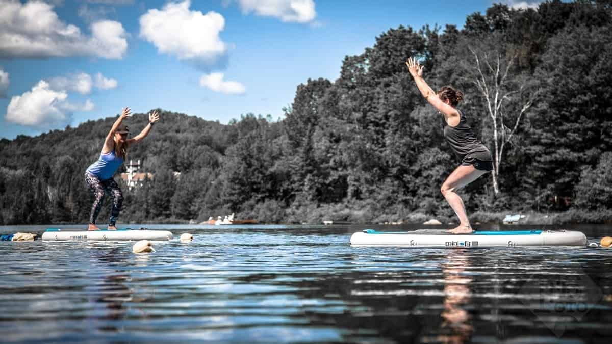 Paddle board sup yoga et voyages cho aloha sup for Club piscine fitness st jerome